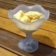 Crema helada de mango