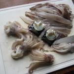 Calamares en su tinta