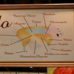 Bondiola de cerdo con polenta mediterránea grillada