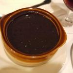 Frijoles negros refritos con chorizo