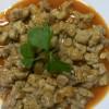 Mollejas de ternera en salsa de pimentón