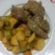 Carne de ternera con verduras