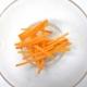 Técnicas de corte: zanahoria
