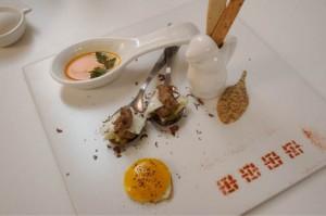 Huevos rellenos gourmet