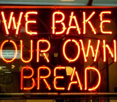 cartel panadero