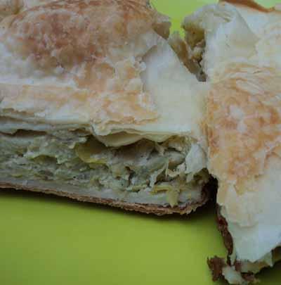 tarta de acauciles
