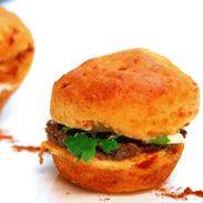 muffins de pimientos