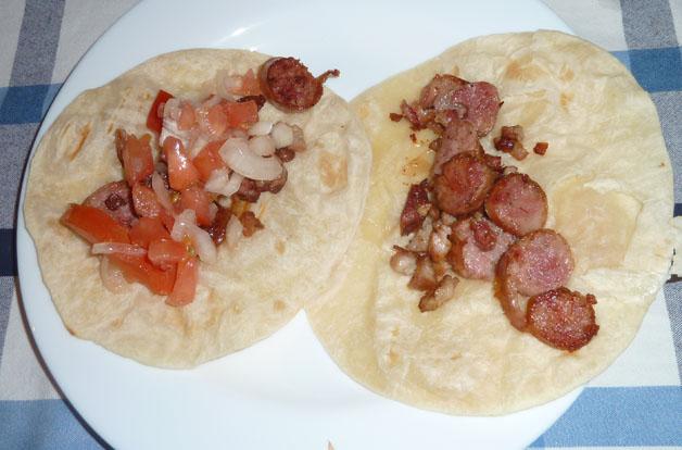 Tacos reciclados